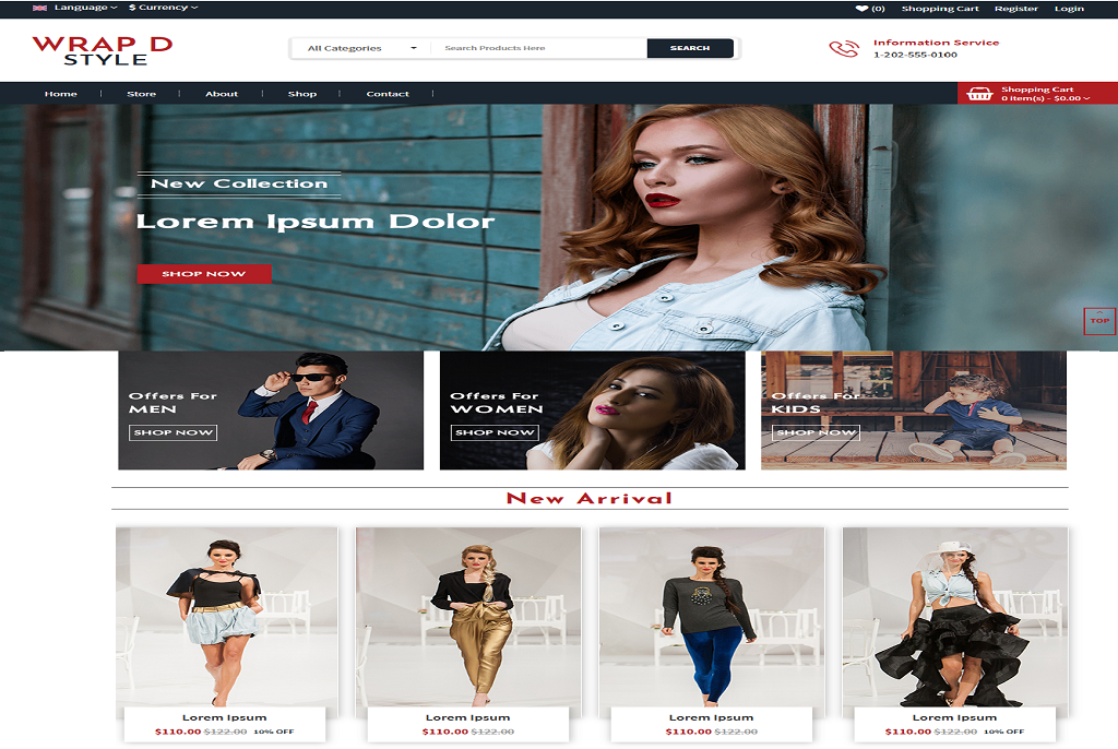 WRAPD best free WordPress theme