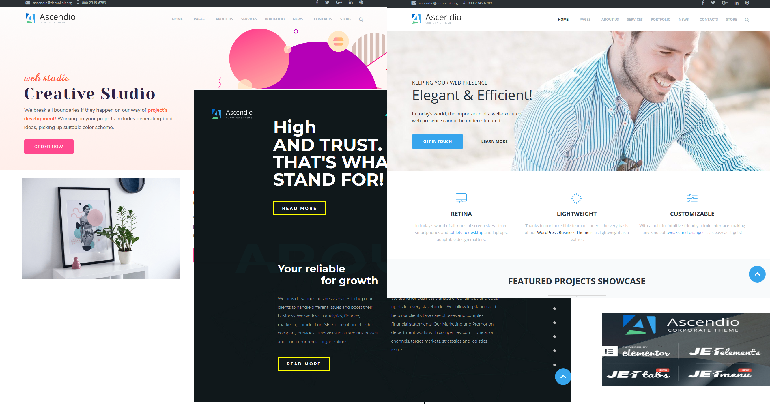 Ascendio Affiliate Marketing WordPress theme