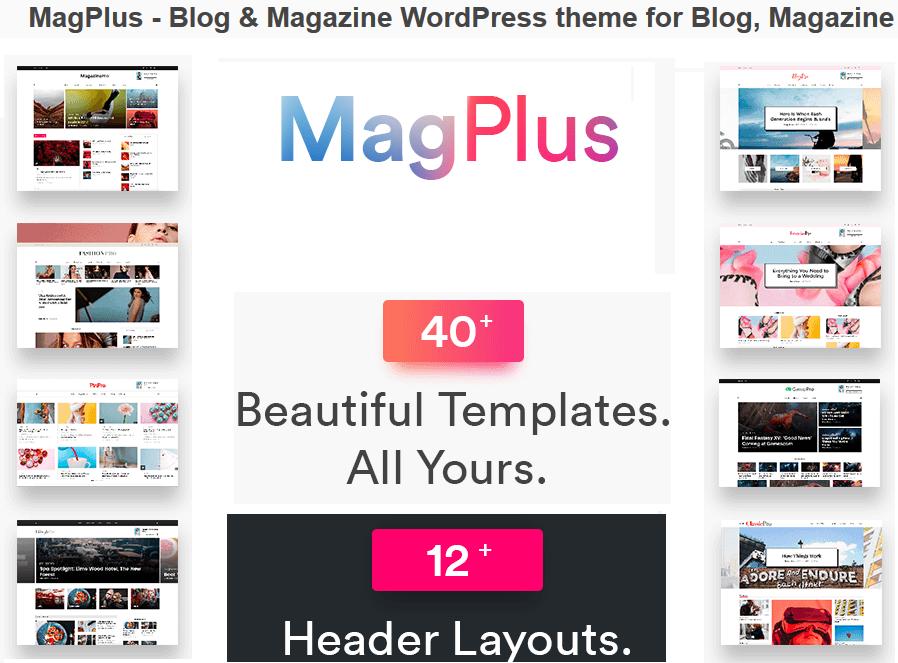 Magplus Affiliate Marketing WordPress themes