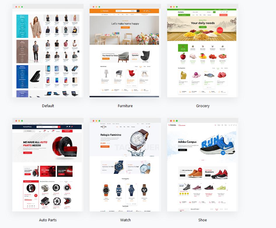 premium ecommerce wordPress themes