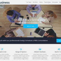 Business best free WordPress theme