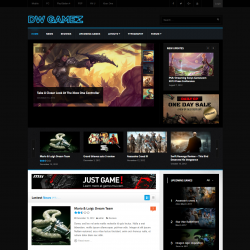 DW Gamez Gaming WordPress themes