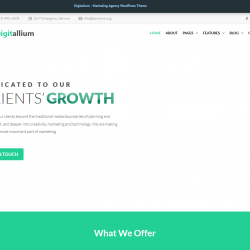 Digitalium Affiliate Marketing WordPress theme