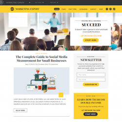 Expart Affiliate Marketing WordPress theme