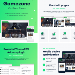 Gamezone Gaming WordPress Themes