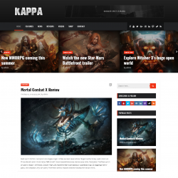 Kappa Gaming WordPress Themes