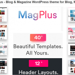 Magplus Affiliate Marketing WordPress themes