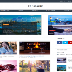 RT Magazine best free WordPress theme