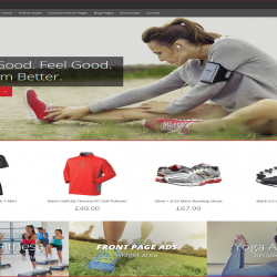Sporta best free WordPress theme