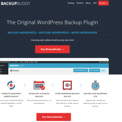 backup buddy wordPress backup plugins
