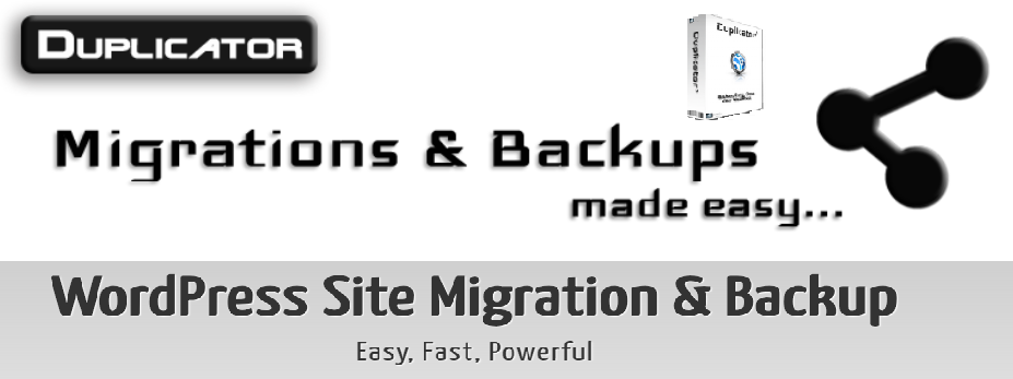 Duplicator WordPress Backup Plugins
