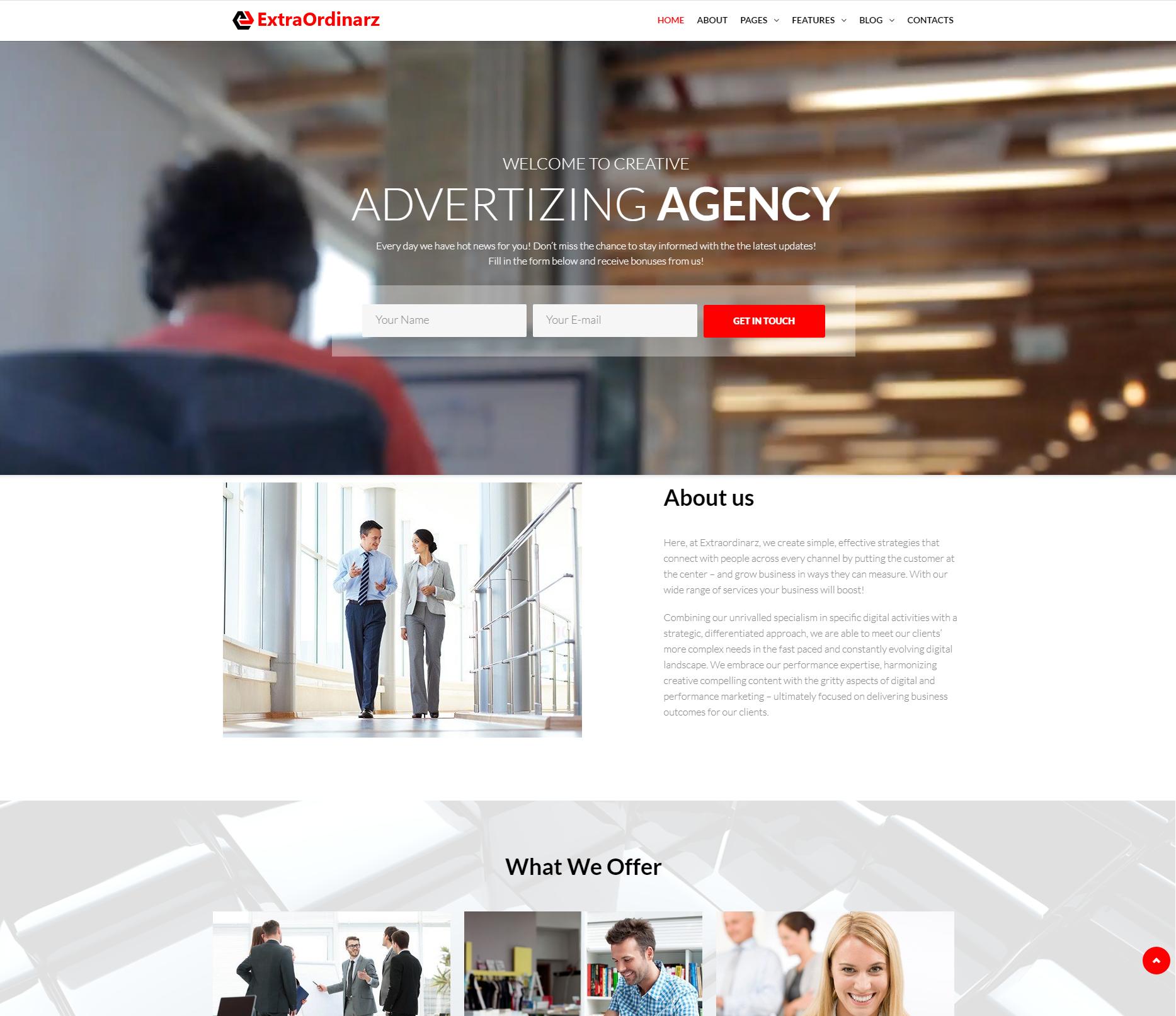 Extraordinaz Affiliate Marketing WordPress theme