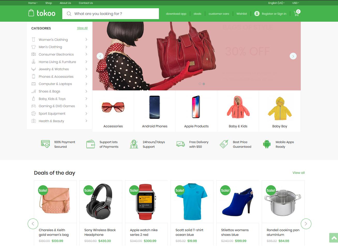 tokoo Affiliate Marketing WordPress theme